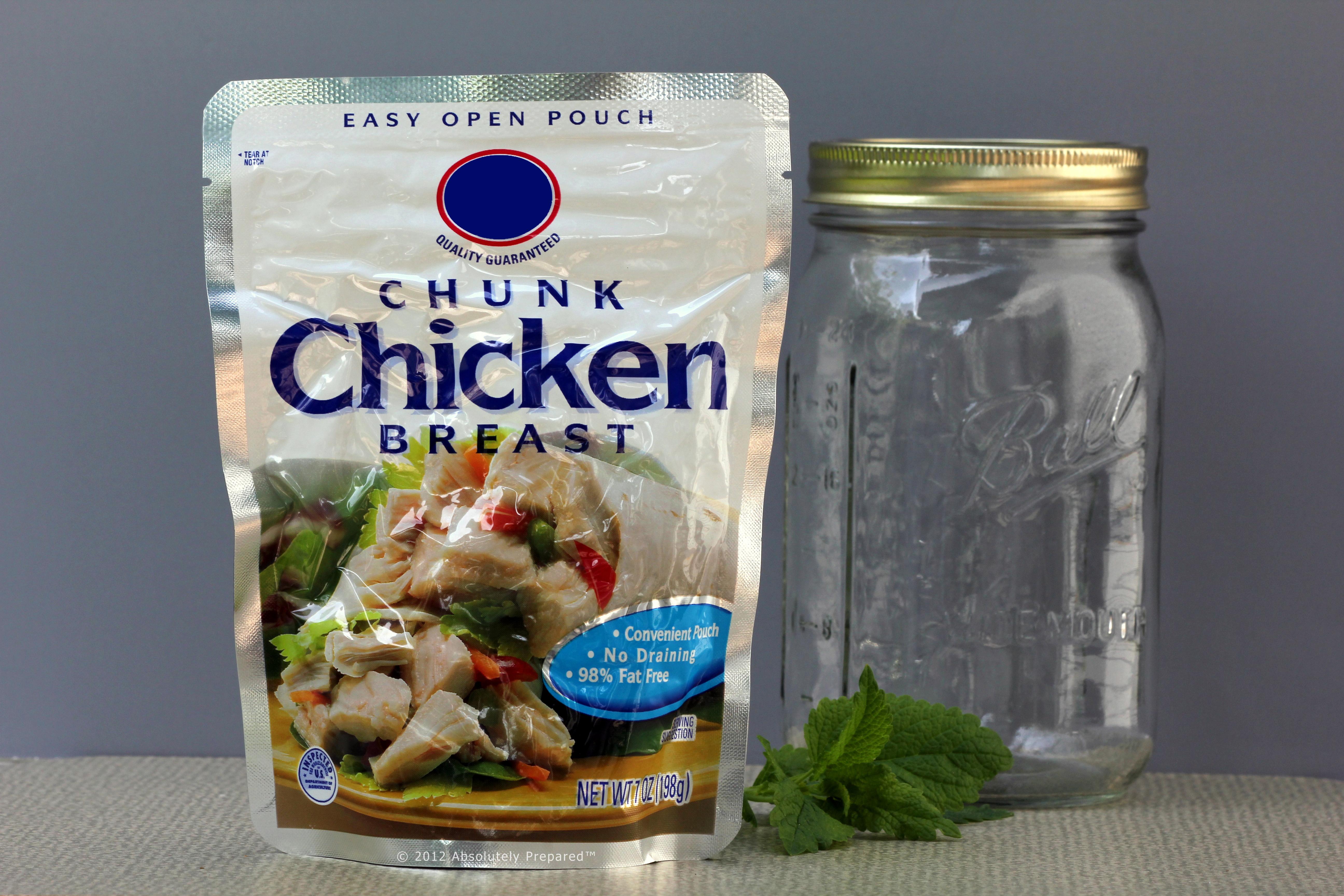 Foil Pouch Chicken
